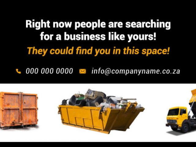 Skip Hire Somerset West